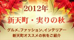 2012年新天町・実りの秋